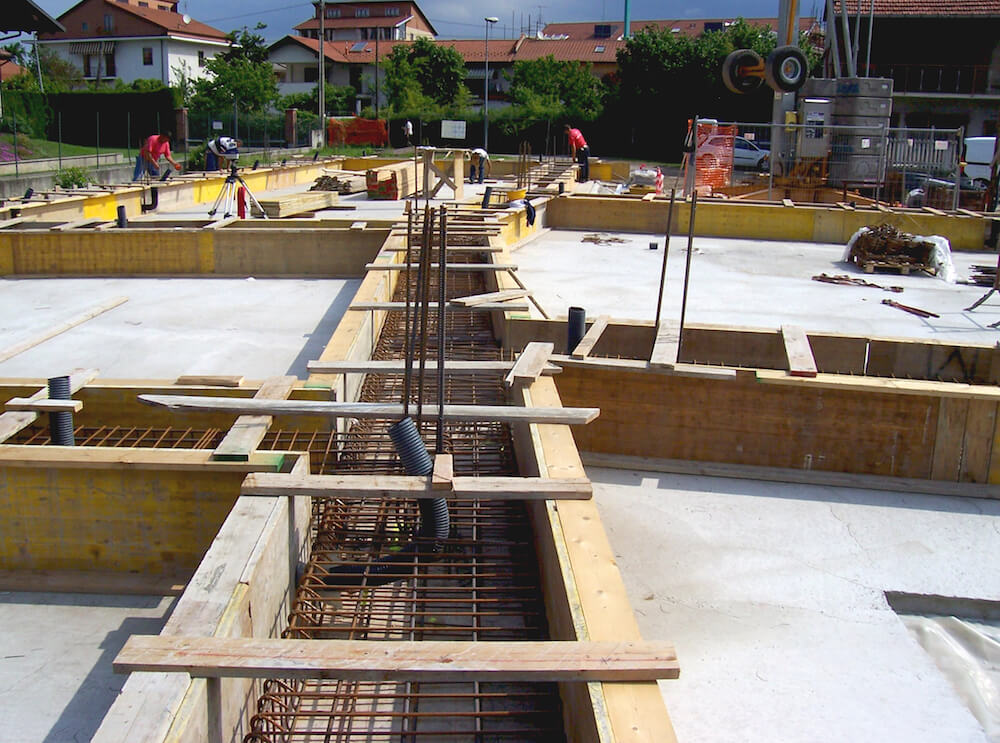 Impresa edile edificio residenziale