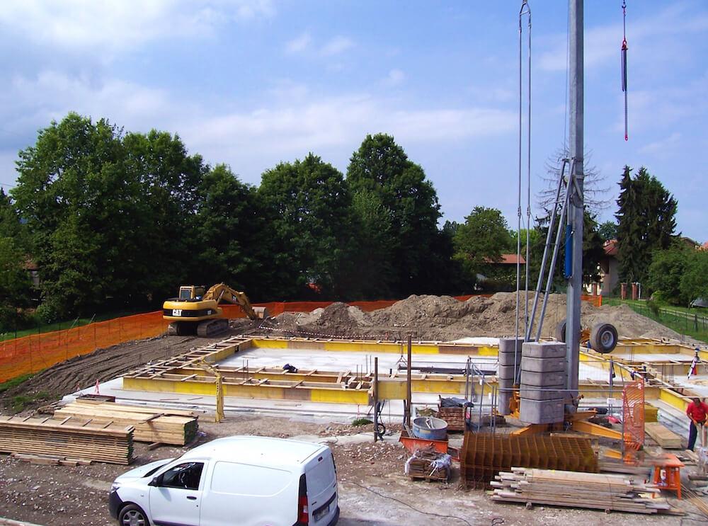 Progettazione e costruzione edificio ad uso residenziale
