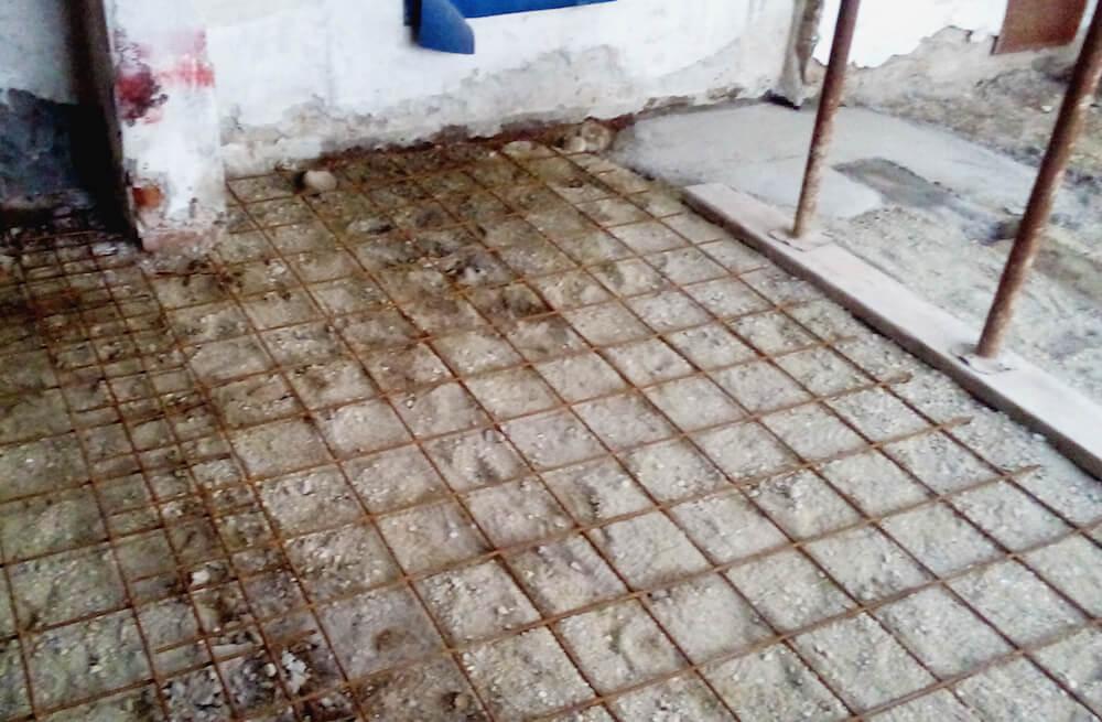 Armatura pavimento Via marco Polo 1