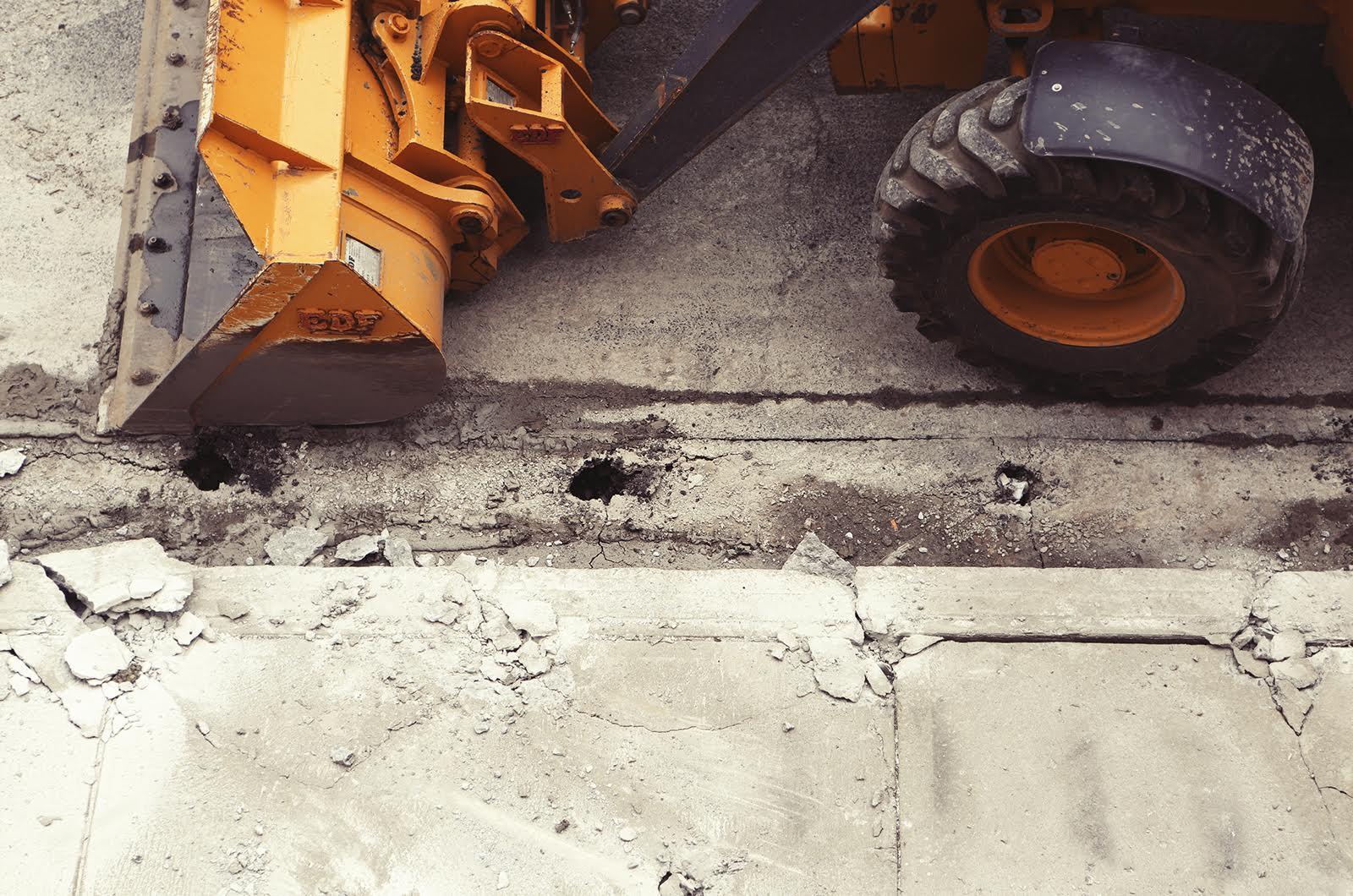 Ruspa lavori edili